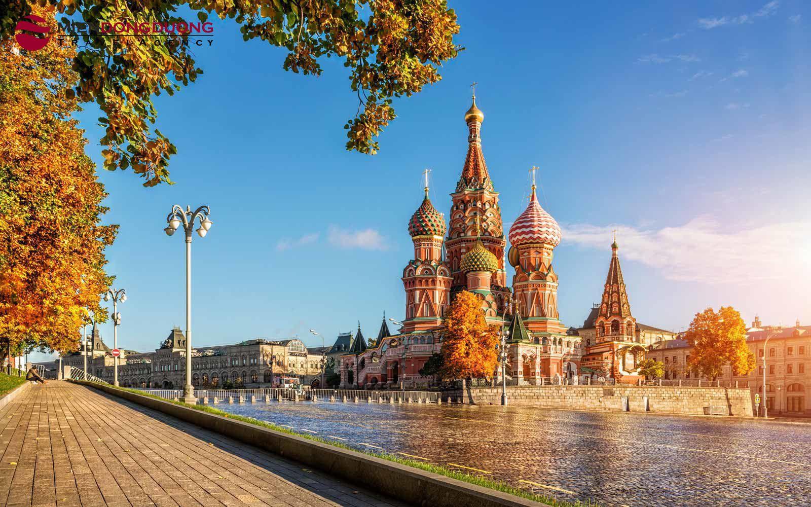 CUNG ĐƯỜNG VÀNG NƯỚC NGA MOSCOW - SAINT PETERSBURG
