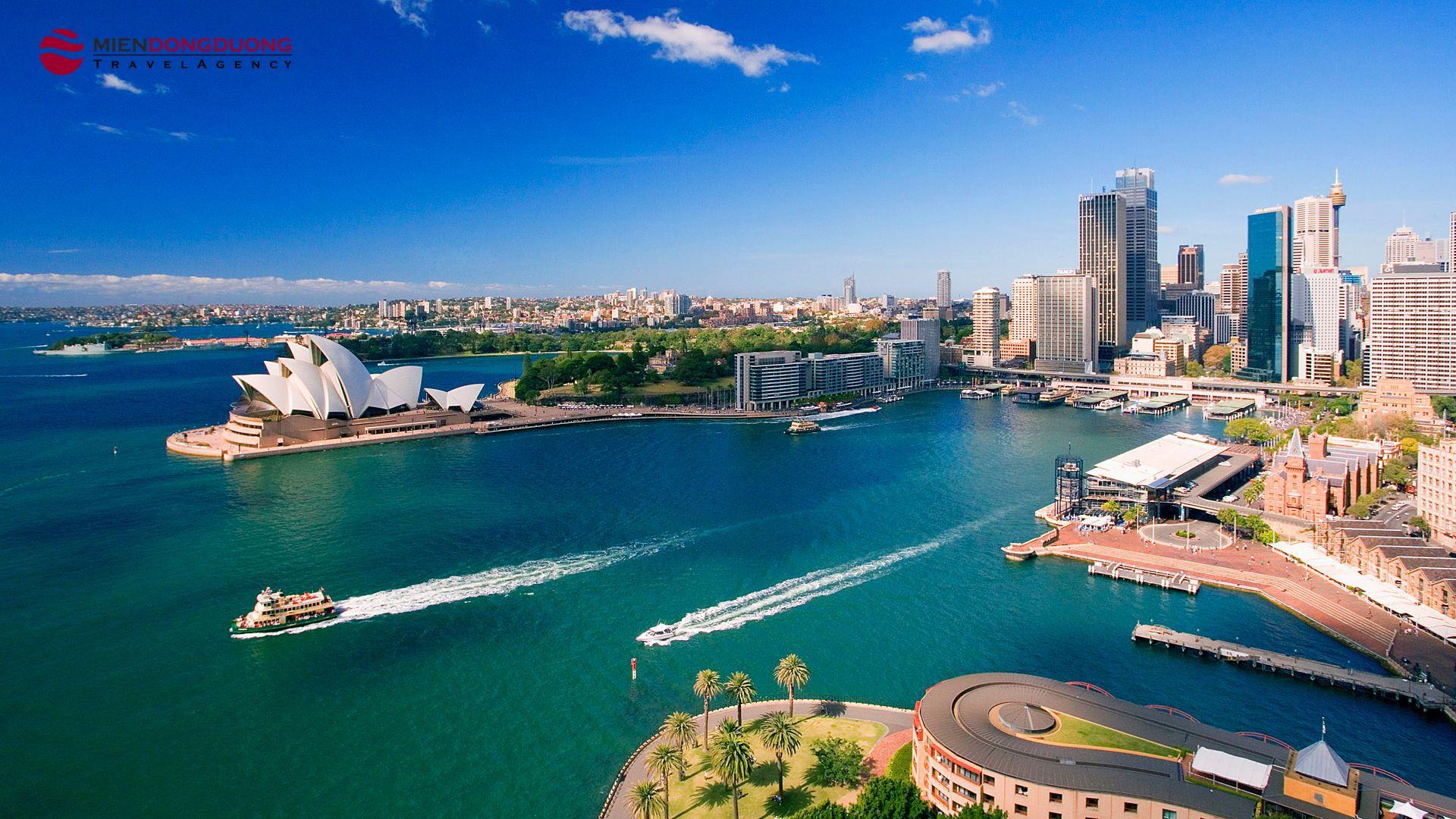 SYDNEY - MELBOURNE (7N6D) VN AIR